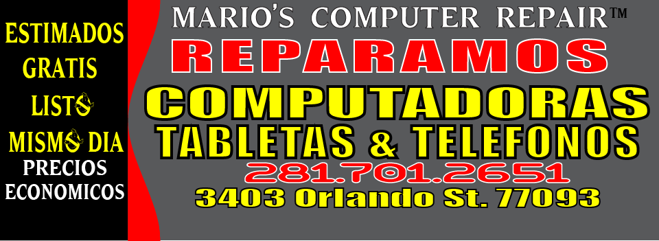 Computer Repair Houston Texas