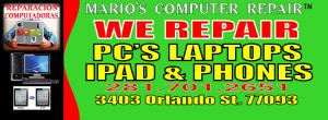 computer repair houston tx