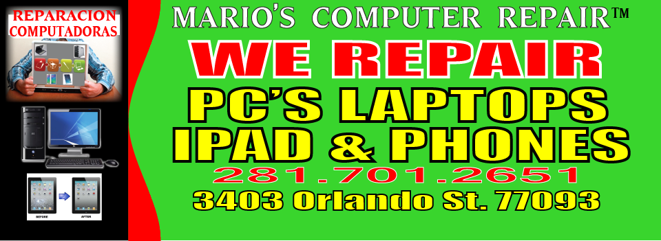 Computer Repair Houston Tx