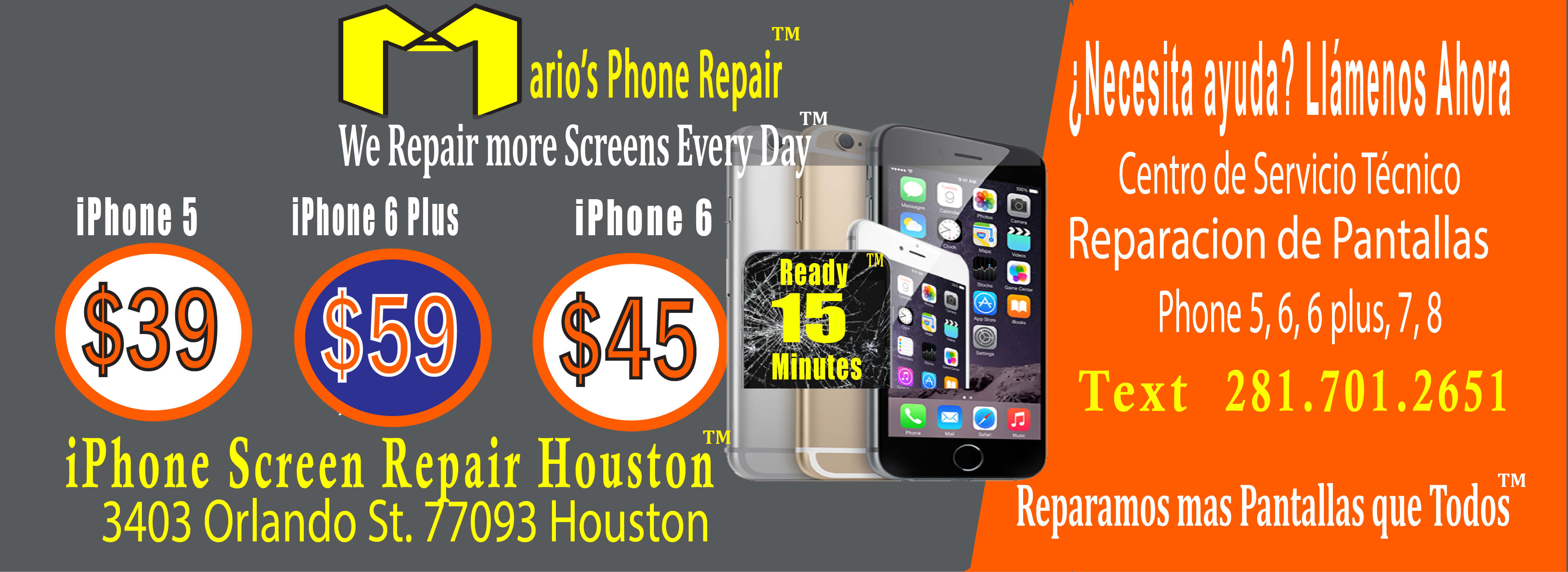 iphone screen repair houston tx